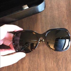 Coach rectangle signature hardware Sunglasses